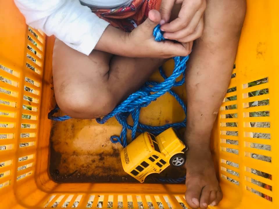 Bendita la infancia de los niños de Honduras